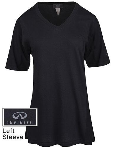 Женская свободная рубашка (INF010019) T-Shirt Slate