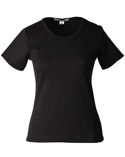Черная женская рубашка (INF020018) Crewneck