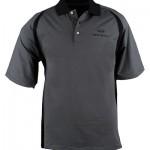 Черная мужская рубашка поло (INF020006) Pebble Beach Stripe Polo Black