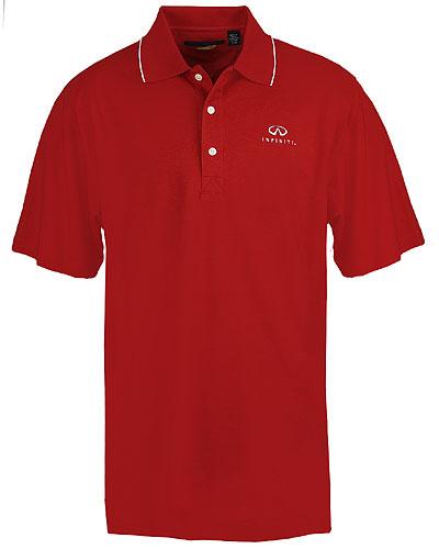 Мужская красная рубашка поло (INF020023) Mens Greg Norman Golf Polo