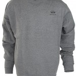 Мужская толстовка (INF060007) Crew Neck Sweatshirt — Dark Oxford