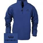 Куртка синяя (INF070004) Nike 1/2 Zip Wind Jacket Deep Royal