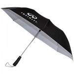 Черный зонт (INF19000200) Colortone Folding Umbrella